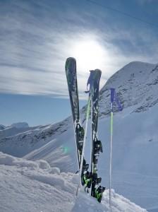 Skifahrerbild